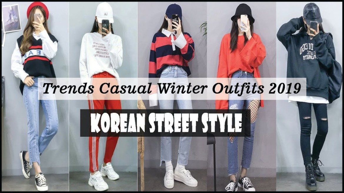 Trends Casual Winter Outfits 2019 – Korean Street Style