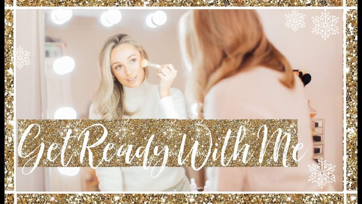CHRISTMAS GET READY WITH ME ✨ Festive Party Makeup & Outfit // Fashion Mumblr