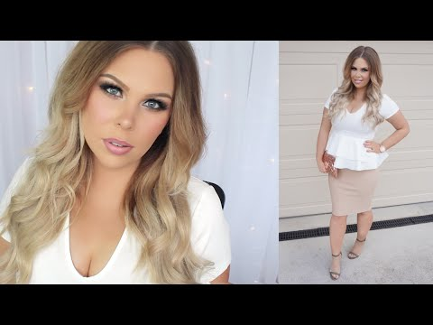 GRWM Christmas Party | Makeup, Hair + Outfit