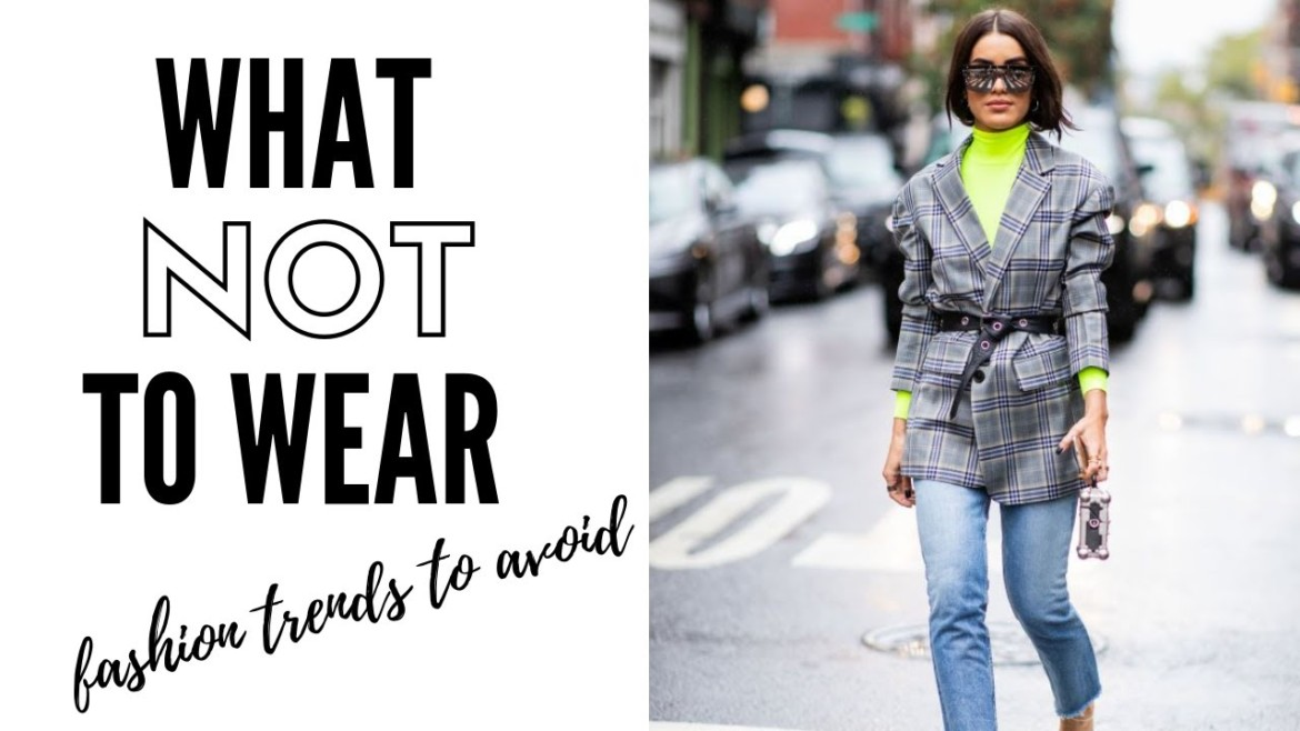 Winter Fashion Trends To Avoid In 2019 | How To Style