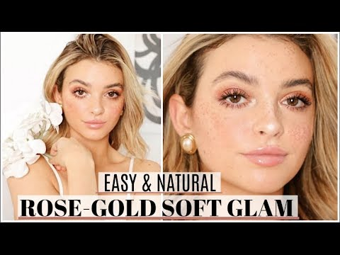 Rose-Gold Valentine's Day Soft Glam Tutorial!