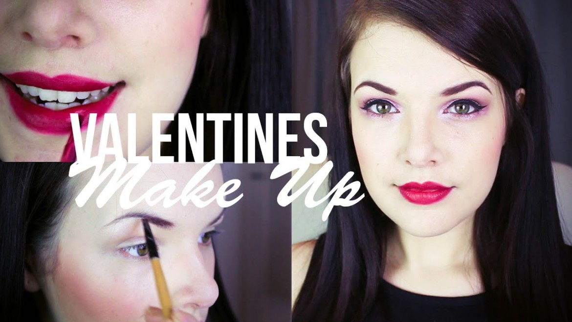Valentines Day Makeup Tutorial ad | Cherry Wallis