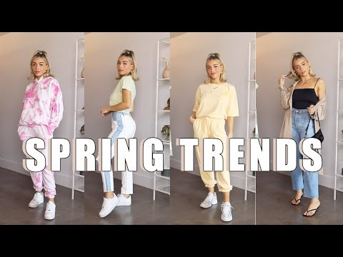 2020 Spring Fashion Trends and How To Style   Pastels, Tie-Dye, Cardigans, more!
