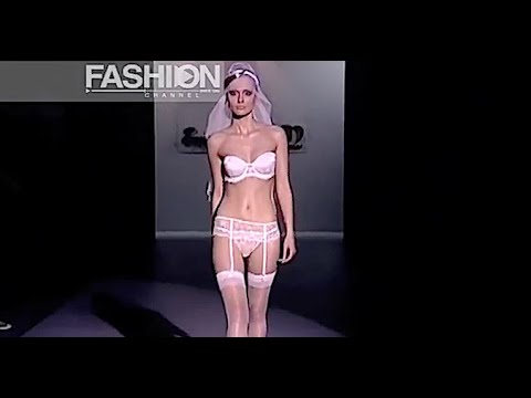 EMPERATRIZ #5 Lingerie Cibeles Madrid Novias 2009 – Fashion Channel