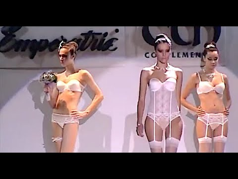 EMPERATRIZ #4 Lingerie Cibeles Madrid Novias 2009 – Fashion Channel