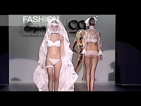 EMPERATRIZ #1 Lingerie Cibeles Madrid Novias 2009 – Fashion Channel