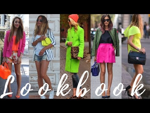 Spring and Summer Fashion Trends – Neon Hues