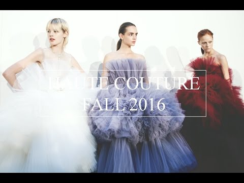 A FASHION PRESENTS: The Trends From The Fall 2016 Haute Couture Runways