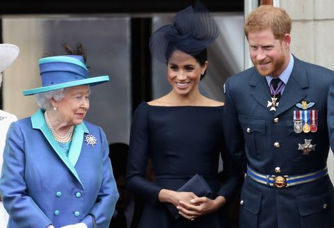 Meghan Markle and Prince Harry Were Moved by the Queens Coronavirus Address