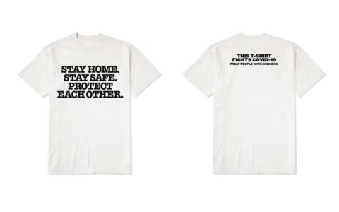 Harry Styles Designs T-Shirt in Aid of WHO's COVID-19 Relief Fund