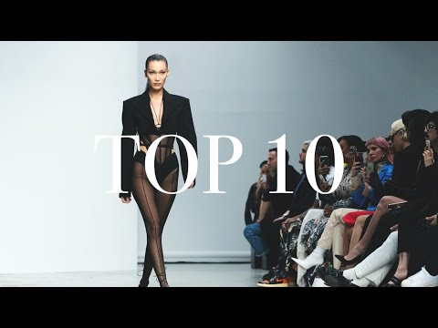 Top 10 Models: Most Opened Shows – Spring/Summer 2020