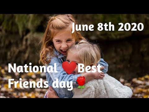 National Best friends day june 8th 2020 l Best friends day whatsapp status
