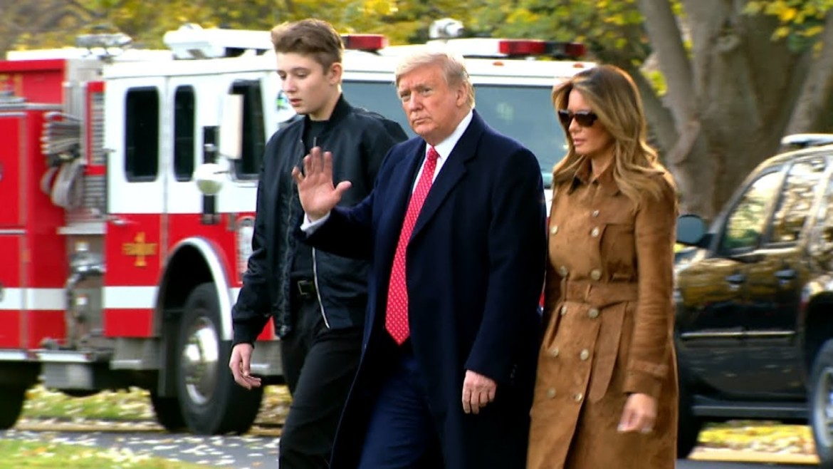 Why Barron Trump Was Mentioned During Impeachment Hearings