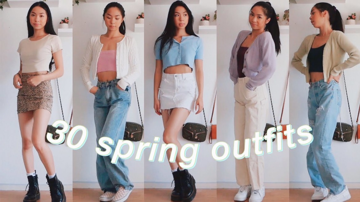 CASUAL SPRING OUTFITS🌸| fashion lookbook 2020