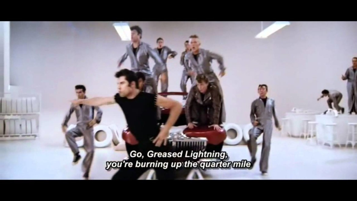 Grease Sing-A-Long Greased Lightnin'