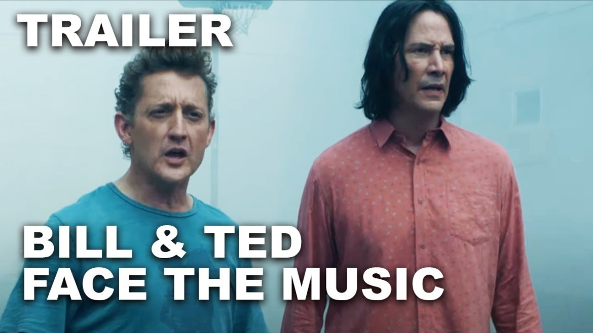 Bill & Ted Face The Music Official Trailer #1 (4K UHD)