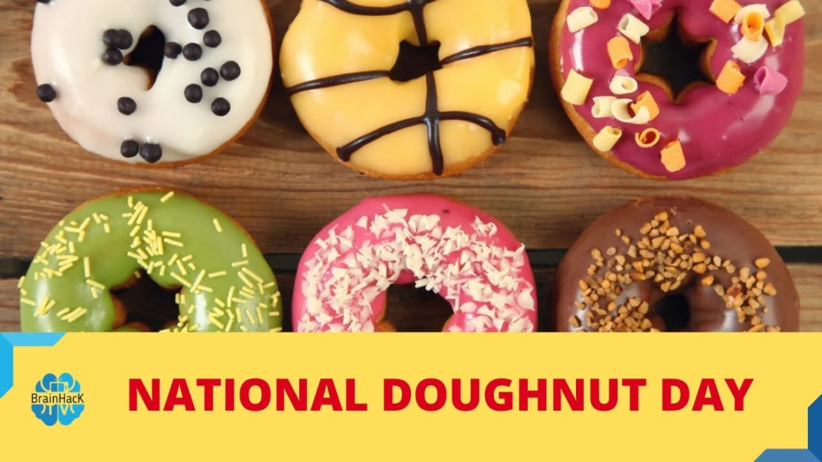National Donut Day – National Doughnut Day 2020 | Doughnuts Doughnuts! #Doughnuts #Donut