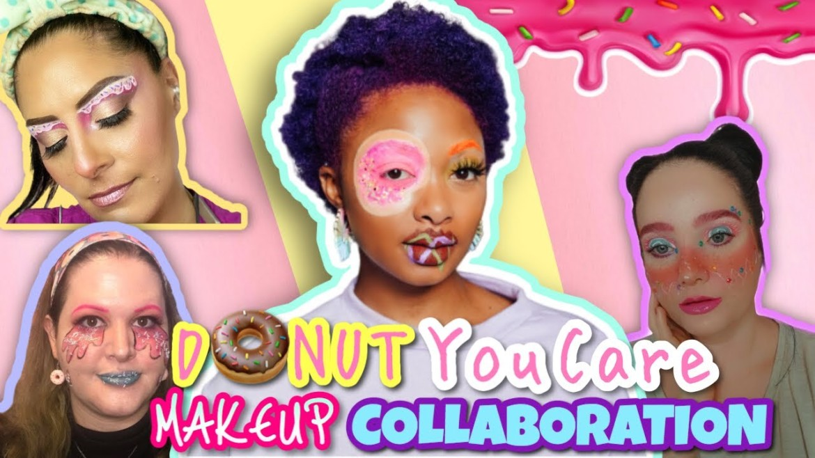 Donut You Care Makeup Collaboration for National Donut Day