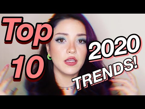 2020 Makeup TRENDS! | BIGGEST TRENDS OF THE YEAR