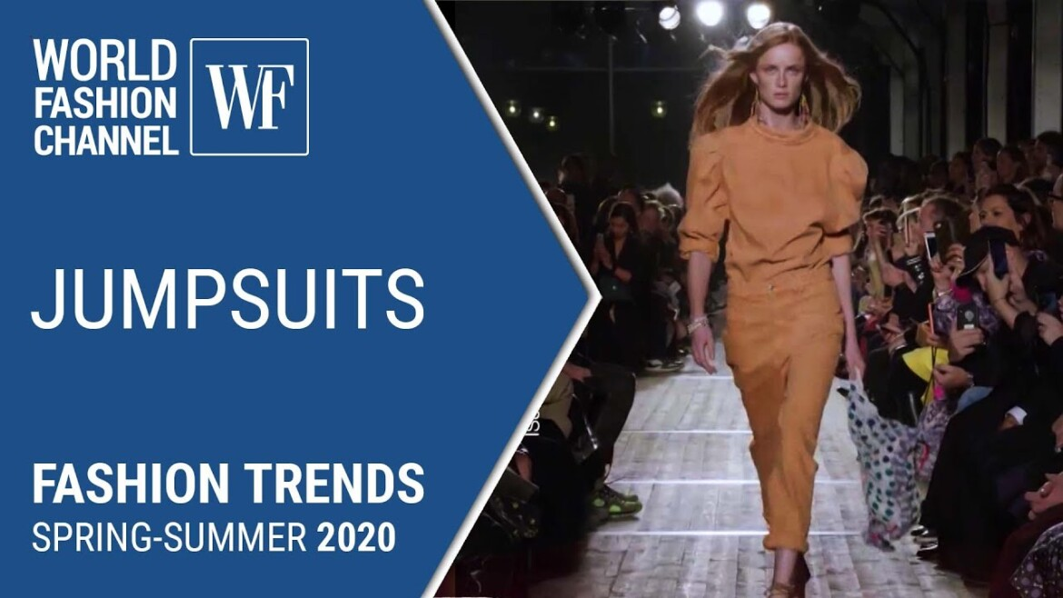 Jumpsuits | Fashion Trends Spring-Summer 2020
