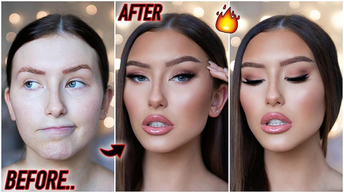 how to be a catfish in 2020… SOFT GLAM MAKEUP TUTORIAL