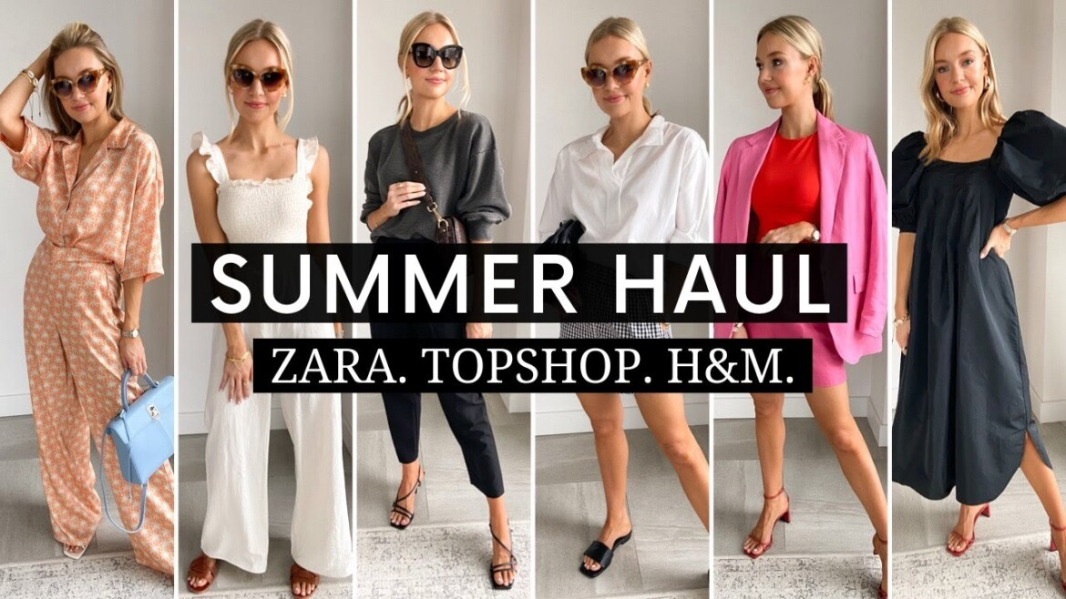 ZARA, TOPSHOP + H&M Try-On Haul | Sale & New-In 2020