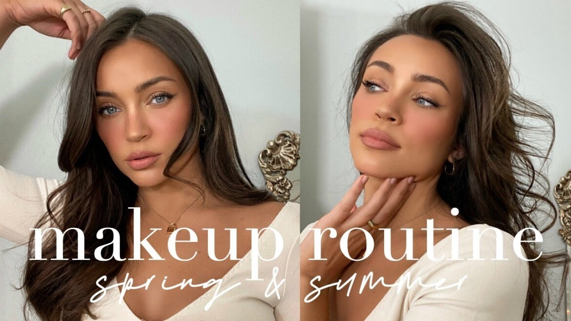 Sunkissed Makeup Routine For Spring + Summer   *NO FOUNDATION*