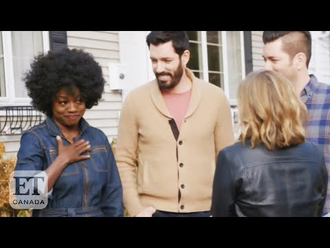 Viola Davis Gets Emotional On 'Celebrity IOU' With The Property Brothers