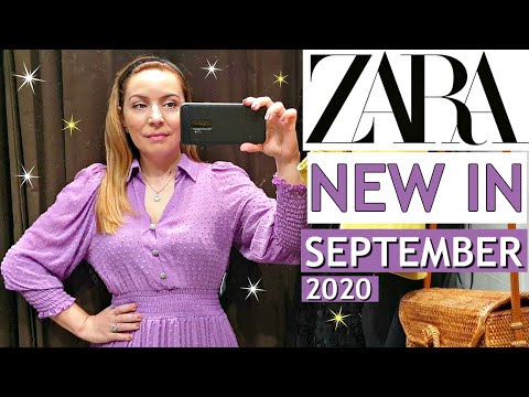 ZARA HUGE TRY ON HAUL SEPTEMBER 2020, NEW ARRIVALS, PRE-FALL 2020 COLLECTION-10 OUTFITS!