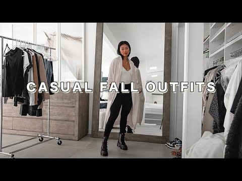 Fall Fashion Lookbook | Autumn Capsule Wardrobe Essentials + Outfit Ideas