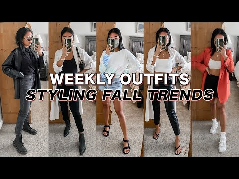 2020 Fall Fashion Trends + How I Would Style Them | Casual Outfit Ideas