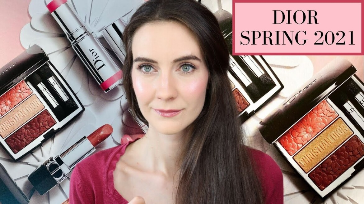 NEW DIOR SPRING 2021 make-up assortment Preview